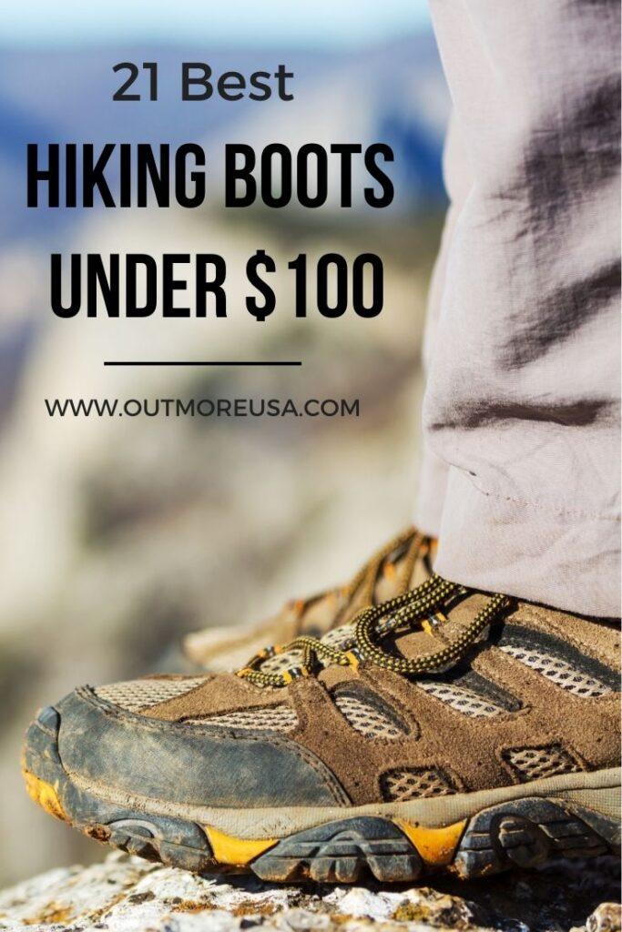 21 Best Hiking Boots Under 100 Bucks