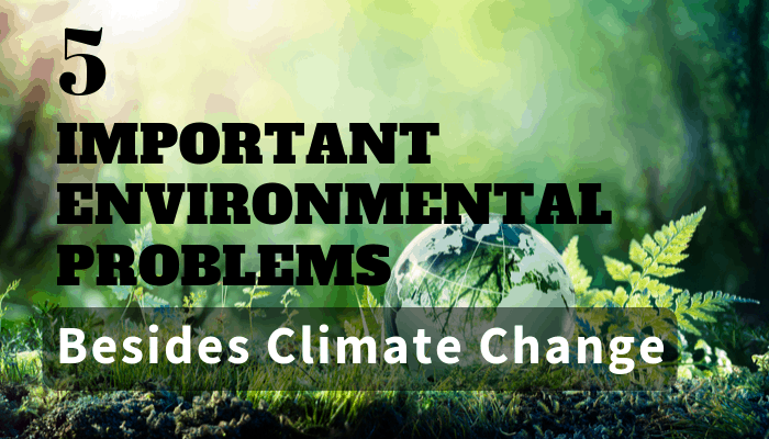5 Important Environmental Issues Besides Climate Change