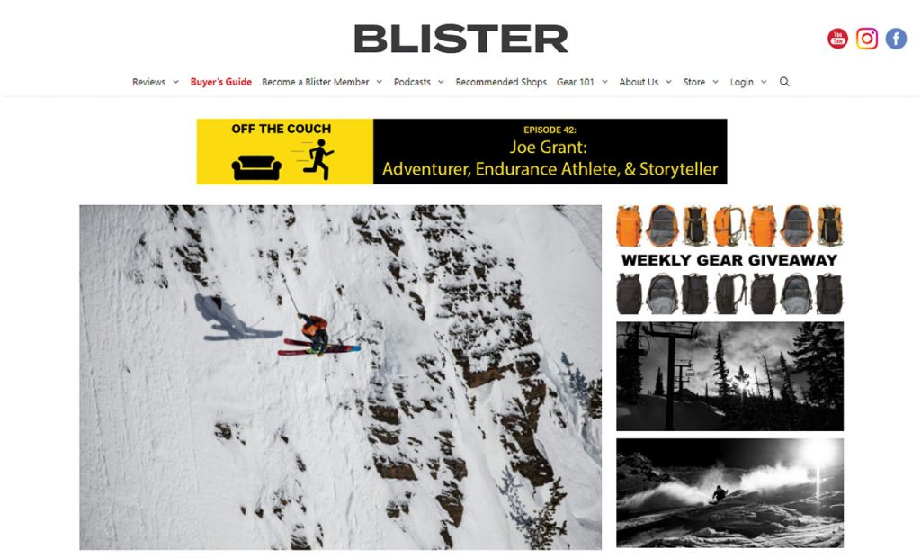 Blister is dedicated to being the best gear review site out there