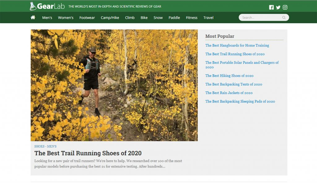 The GearLab mission is simple: to create world's best outdoor gear reviews.