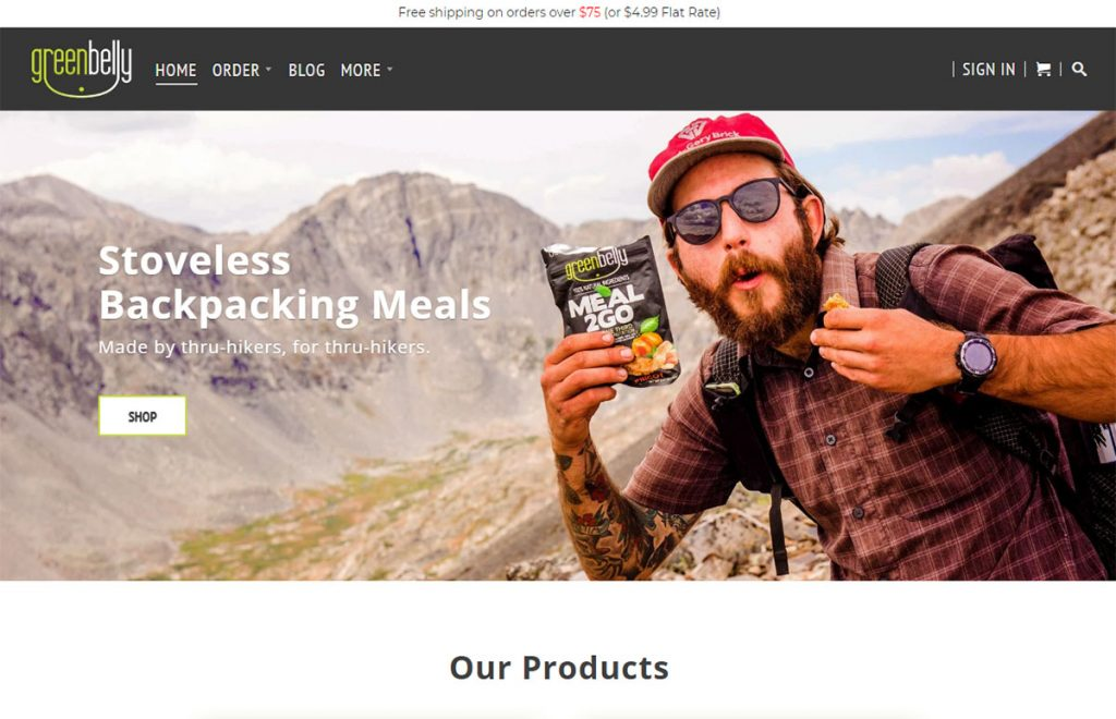 Greenbelly.co make their own bars which are meant to provide a ton of calories and good nutrition for extreme activity like backpacking, cycling, etc. They've also got a really great blog with a great nutrition info.