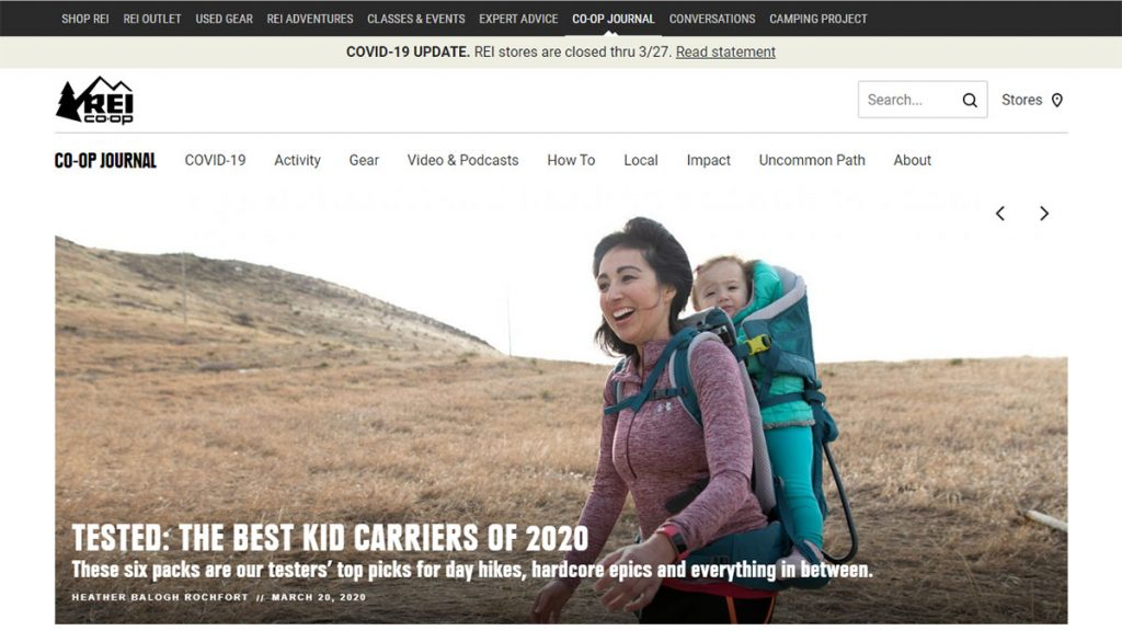 The REI Blog is loaded with gear reviews (of course), but also tons of tips and good info for all types of outdoor enthusiasts.