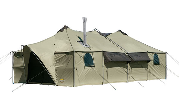Cabela's Ultimate Alaknak tent with stove jack