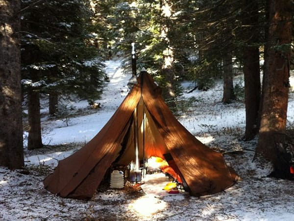 Seek Outside Tipi Tent with stove jack