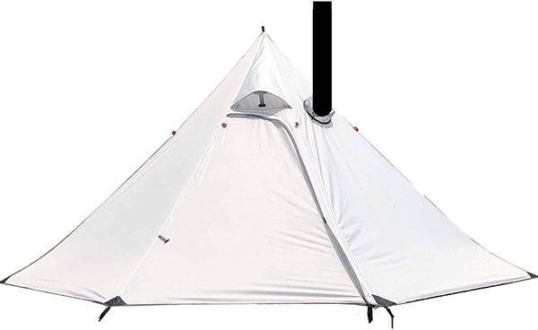 Preself Tipi Tent with stove jack