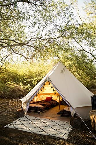 Stout Bell Canvas Bell Tent with stove jack