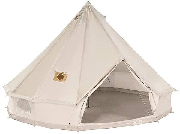 Danchel Cotton Bell Tent with Two Stove Jacks