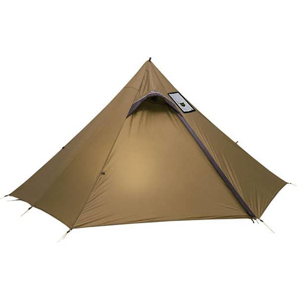 Luxe Hexpeak Tipi (2P) Ultralight Trekking Pole Tent with stove jack