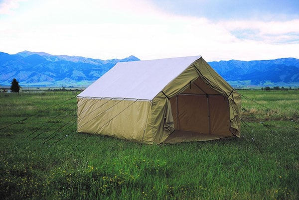Montana Canvas Blend Wall Tent with stove jack