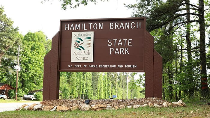 Hamilton Branch State Park on Lake Thurmond is a wonderful place for camping, boating, fishing, and hiking! If you go, you must check out the...