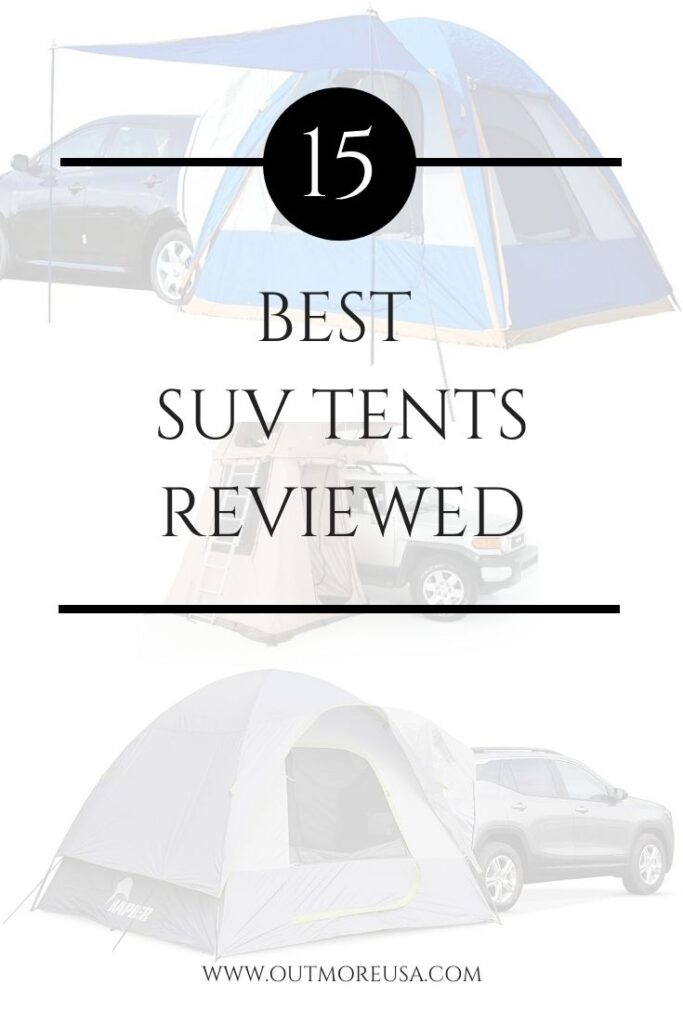 15 Best SUV Tents Reviewed