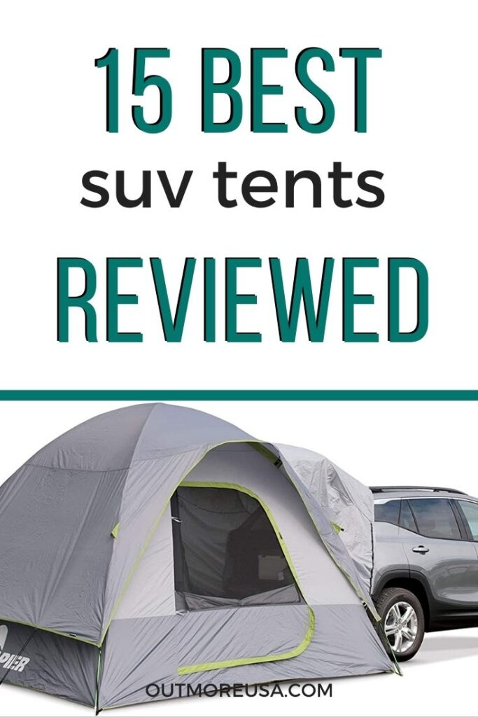 15 Best Suv Tents For 2021 Reviewed Outmore