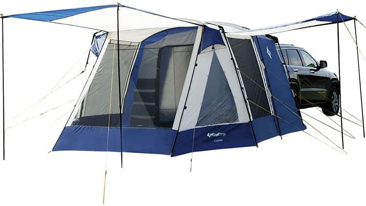 KingCamp Melfi Plus SUV Tent review