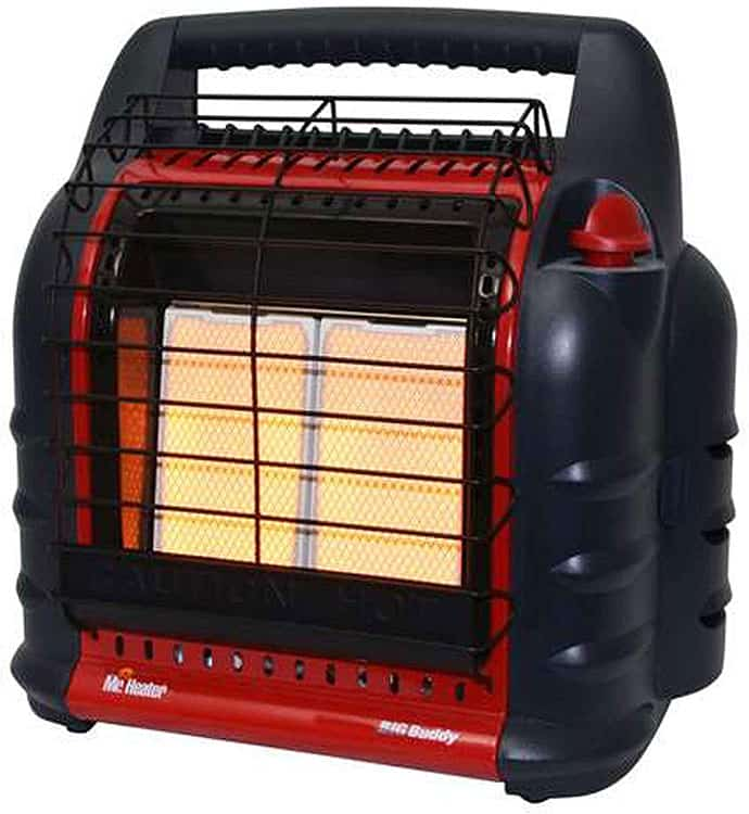 Mr. Heater Big Buddy tent heater review