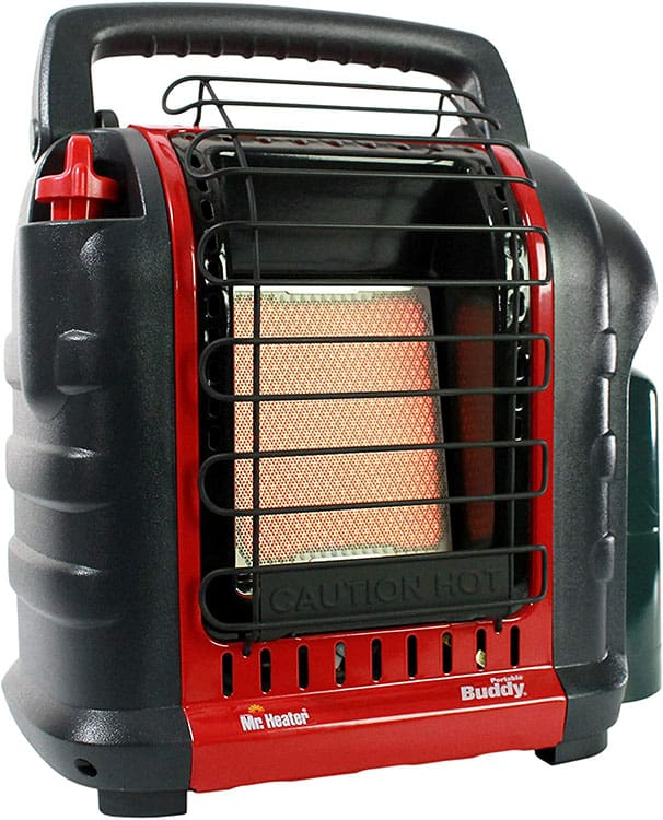 Mr. Heater Buddy tent heater review