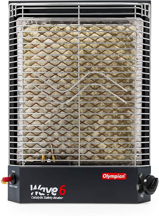Camco Olympian Wave catalytic heater review