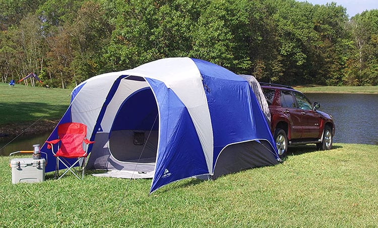 Ozark Trail SUV Tent review