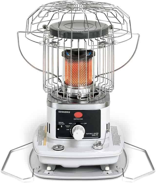 Sengoku HeatMate tent heater review